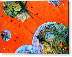 Opus - Five Acrylic Print by Mudrow S