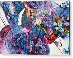 Opus - Two Acrylic Print by Mudrow S