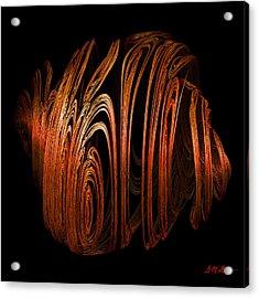 Orange Peel Acrylic Print by Michael Durst