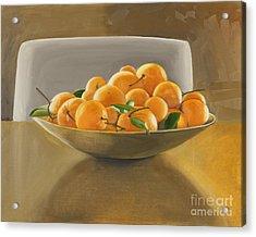 Oranges Acrylic Print by Melissa Burke