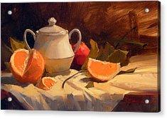 Oranges Acrylic Print by Richard Robinson