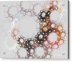 Acrylic Print featuring the digital art Orbital by Kim Sy Ok