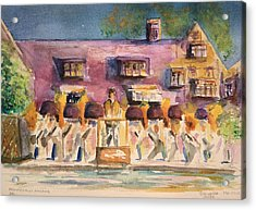 Orchestra Evening Gala At Ford House  Acrylic Print by Bernadette Krupa