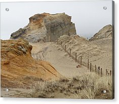 Oregon Sand Dunes Acrylic Print by Athena Mckinzie