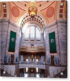 Oregon State Capitol Acrylic Print