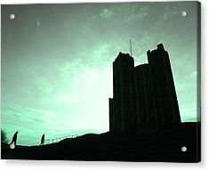 Acrylic Print featuring the photograph Orford Castle by David Harding