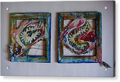Organic Acrylic Print by Neda Laketic