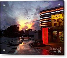 Oriental Buffet Acrylic Print