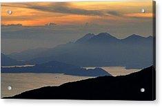 Oriental Sunset Acrylic Print