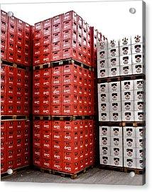 Original Budweiser Shipping Out Acrylic Print