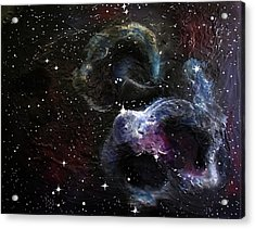 Orions Cloud Acrylic Print