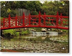 Acrylic Print featuring the photograph Ornamental Garden by Coby Cooper