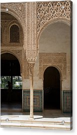 Ornate Arch Alhambra Acrylic Print
