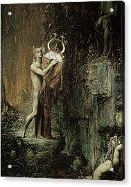 Orpheus Acrylic Print by Pierre Amedee Marcel-Beronneau