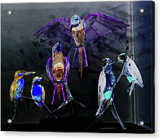 Ort Der Begegnum Or The Meeting Place Acrylic Print by Taylor Steffen SCOTT