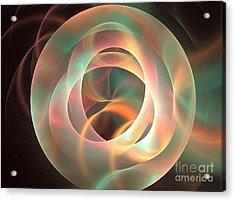 Orthosie Acrylic Print by Kim Sy Ok