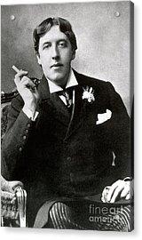 Oscar Wilde, Irish Author Acrylic Print by Photo Researchers