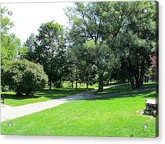 Oshawa Botanical Garden 2 Acrylic Print by Sharon E Steinhaus