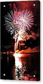 Osoyoos Lake On Fire Acrylic Print by Don Mann