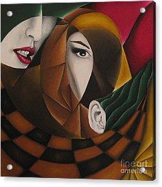 Ossa Acrylic Print by Kleopatra Aurel