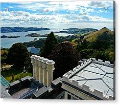 Otago From Larnach Castle Acrylic Print