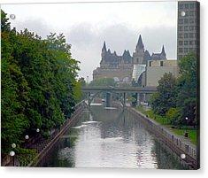 Ottawa Rideau Canal Acrylic Print