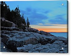Otter Point At Dawn Acrylic Print