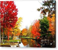 Our Canal Acrylic Print
