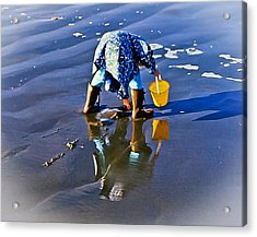 Our Clam Digger Acrylic Print