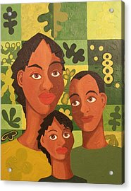 Our Family Acrylic Print by Maggie Ruth