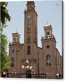 Our Lady Of Guadalupe Piedras Negras Mexico Acrylic Print