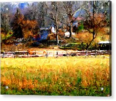 Our View Acrylic Print by Marilyn Sholin