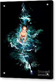 Our Water Child Acrylic Print