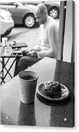Out For Coffee Acrylic Print