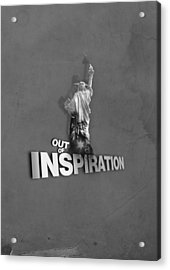 Out Of Inspiration Acrylic Print by Daniel Stephen Gallery