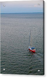 Out To Sea Acrylic Print by Chad Dutson