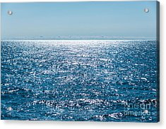 Out To Sea Acrylic Print by Christina Klausen