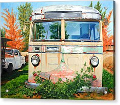 Out Where The Buses Don't Run Acrylic Print