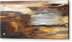 Outer Moons Acrylic Print