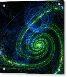 Outer Space Acrylic Print by Steve K