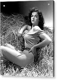 Outlaw, Jane Russell, Photo By George Acrylic Print by Everett
