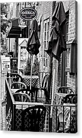Outside Dining  Acrylic Print by Randall  Cogle