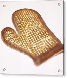 Oven Glove Acrylic Print by Cristina Pedrazzini