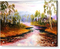 Oven's River Myrtleford Acrylic Print