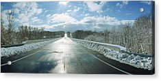 Over The Hill And Beyond Acrylic Print by Jan W Faul