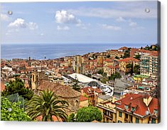Over The Roofs Of Sanremo Acrylic Print by Joana Kruse
