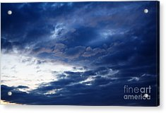 Overcast Sky In The Morning Acrylic Print by Gabriela Insuratelu