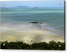 Overhead Of Cape York, Mainland Australia's Northernmost Point Acrylic Print by Johnny Haglund