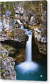 Overview Of Icefields Parkway, Beauty Acrylic Print by Yves Marcoux