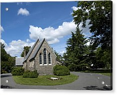 Acrylic Print featuring the photograph Oxford Church by Charles Kraus